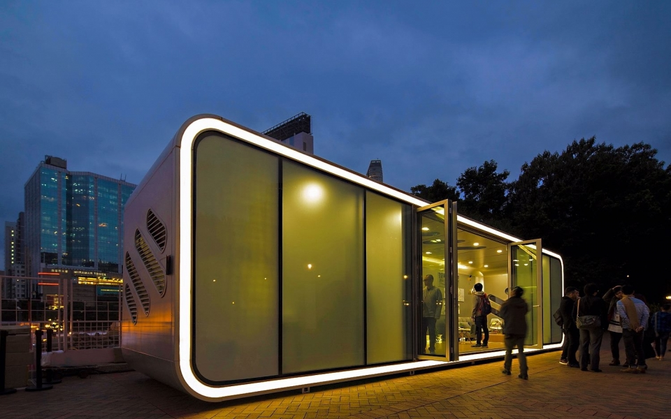 2016 Global Design Award - AlPod by James Law Cybertecture