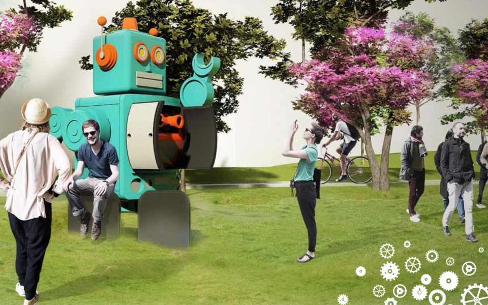 James Law Cybertecture 大鐡人 Big Robot selected for Tsun Yip Street Public Art Scheme