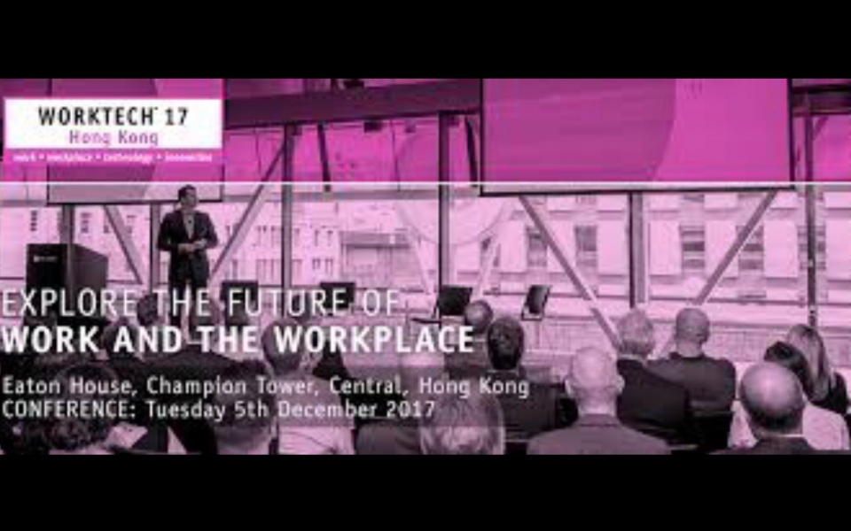WorkTech 2017 Hong Kong invites James Law to be a speaker