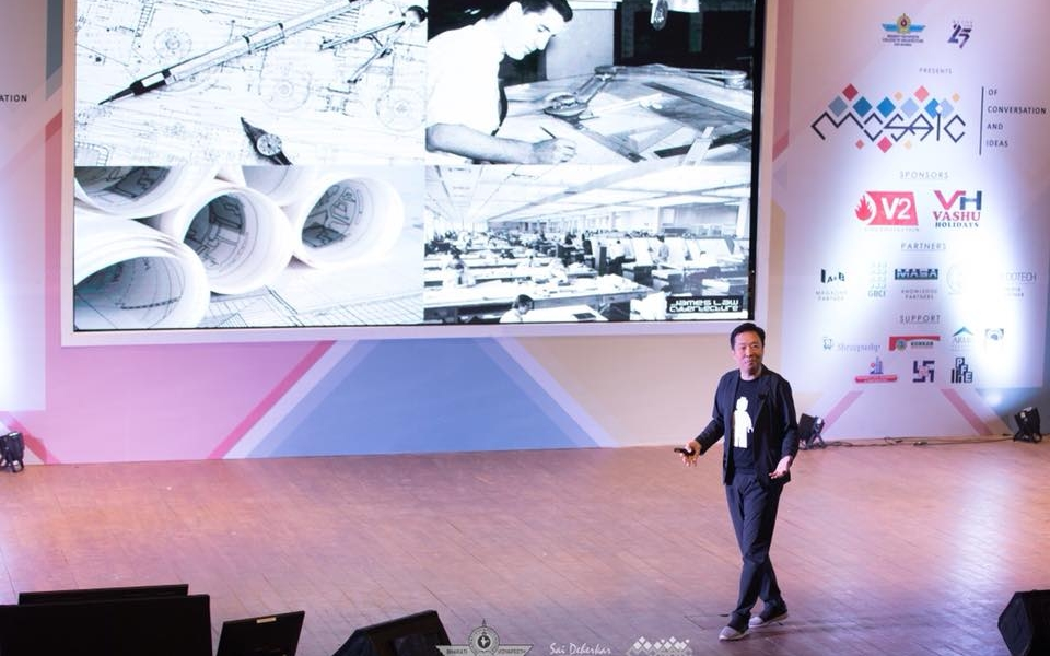 James Law keynote at Mosaic 2017, Mumbai