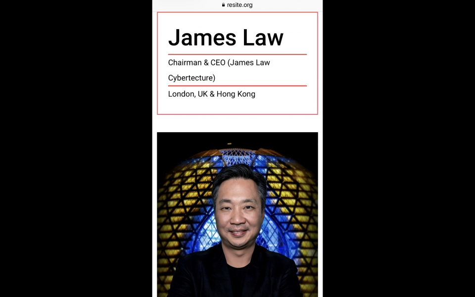 James Law to be speaker at reSITE 2018 Prague