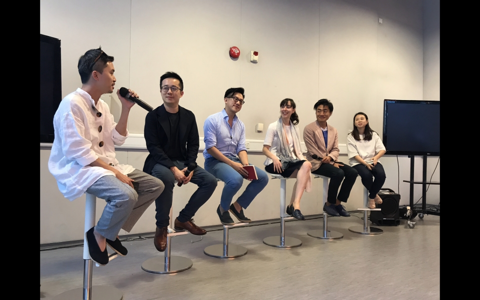 HKDI x James Law Cybertecture Forum on Micro Living Design