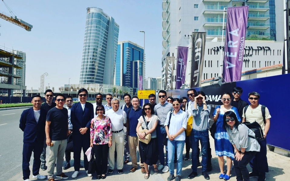 James Law leads Hong Kong Architect delegation to UAE