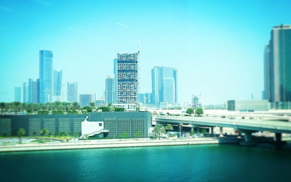 James Law Cybertecture's new Abu Dhabi innovative green high rise Skygardens Tower nears completion