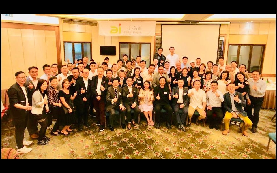 James Law speaks at Architectural Intelligence Dinner, Hong Kong