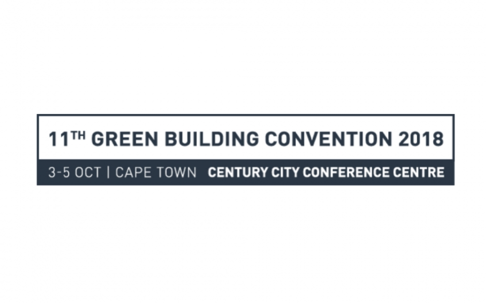 James Law to keynote at 11th Green Building Convention 2018 South Africa