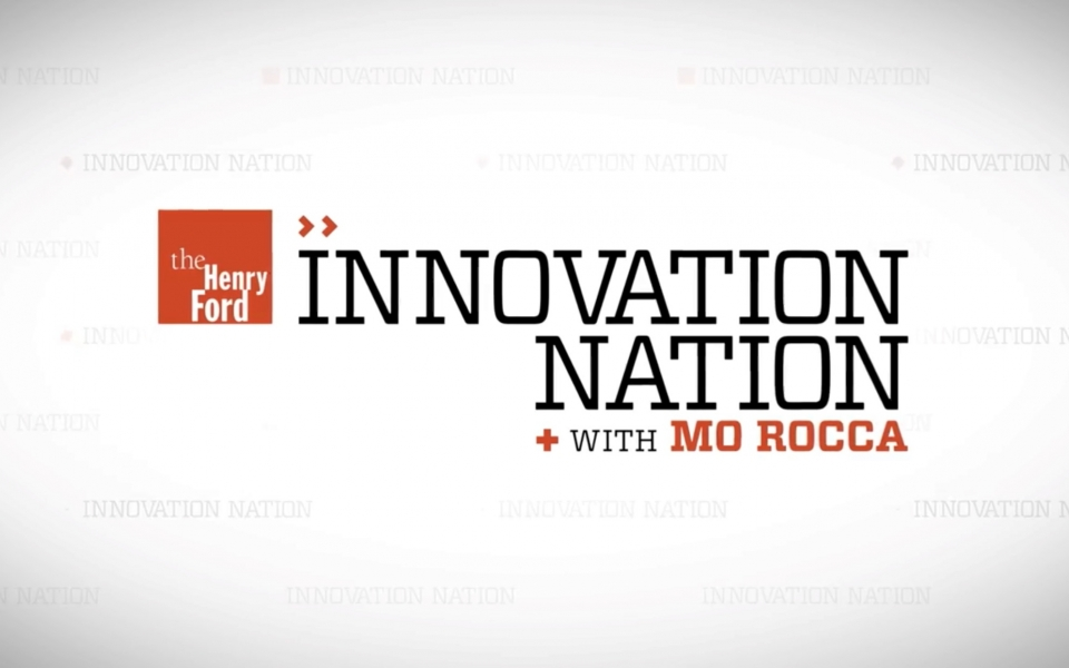 CBS Innovation Nation -The Henry Ford Show features OPod