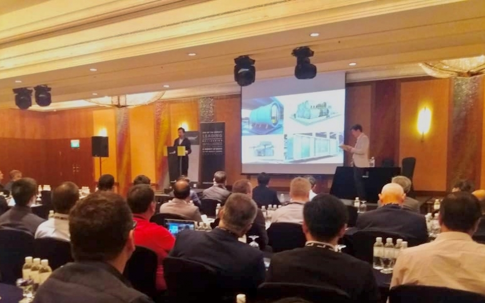 James Law presents at 3rd Annual Construction Excellence - Prefab, Precast, Modular Buildings in Singapore