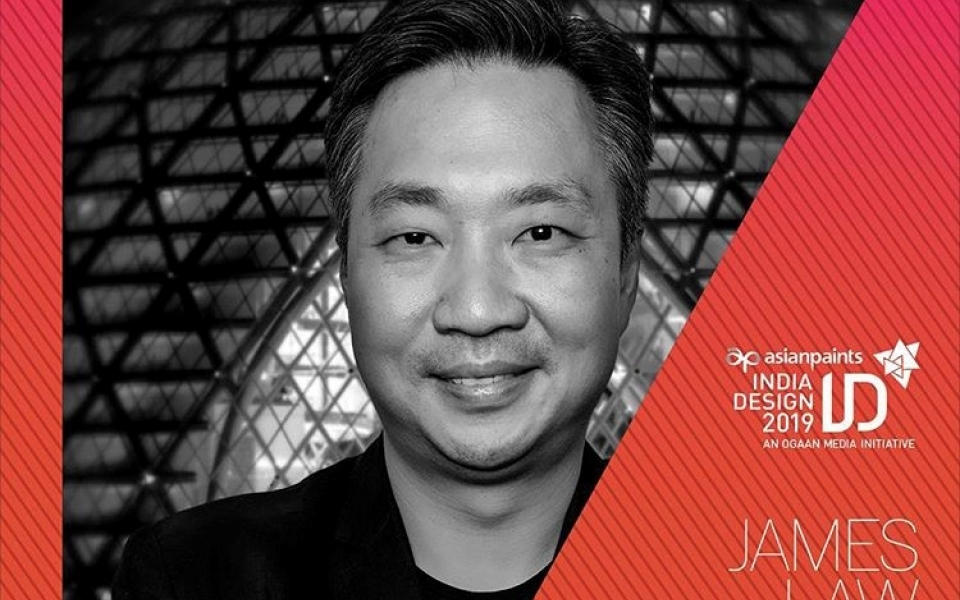 James Law to speak at India Design ID 2019