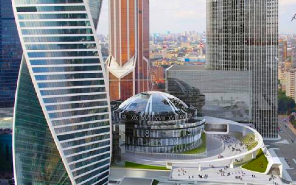 Moscow Snob Club Building nears completion by James Law Cybertecture
