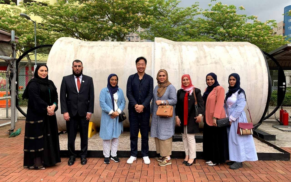 OPod 水管屋 visit by UAE Ministry of Infrastructure Development