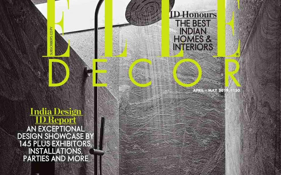 James Law interviewed by ELLE Decor India