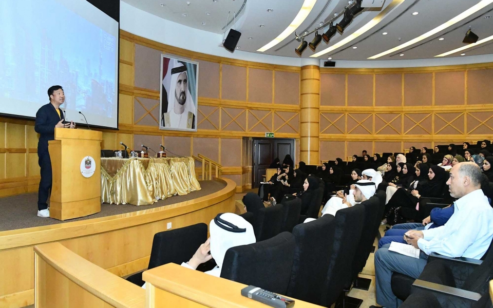 James Law speaks at UAE Ministry of Infrastructure Development