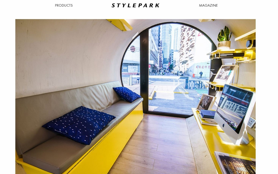 Architecture and Design online magazine Stylepark covers OPod
