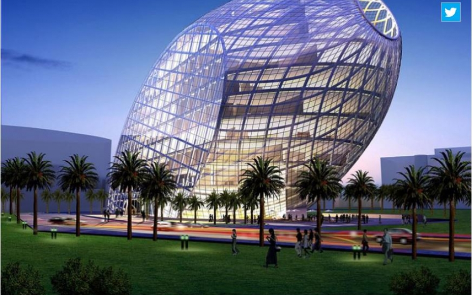 India media NEWS18 covers Cybertecture Egg as one of the most amazing and coolest office buildings in India