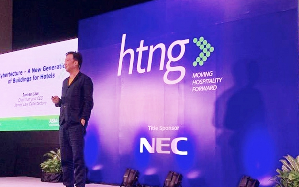 James Law speaks at HTNG Asia Pacific Conference in Bangkok