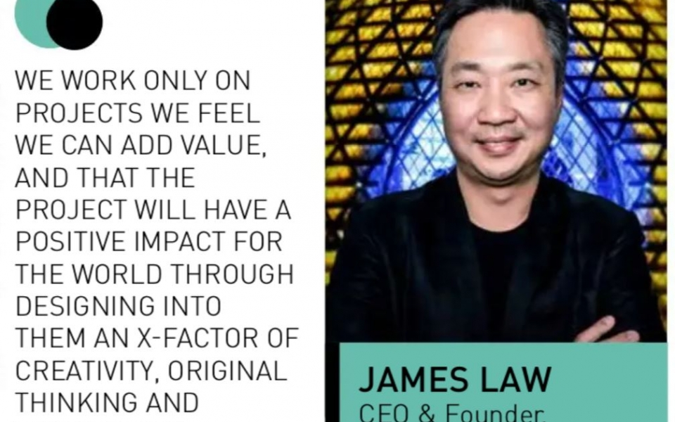 James Law interview with Realty on Thinking Futuristic and Designing for a Better World