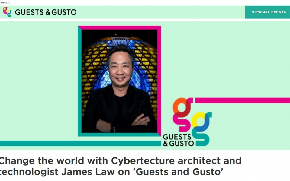 James Law to share at SCAD virtual series Guests and Gusto on Sep 30