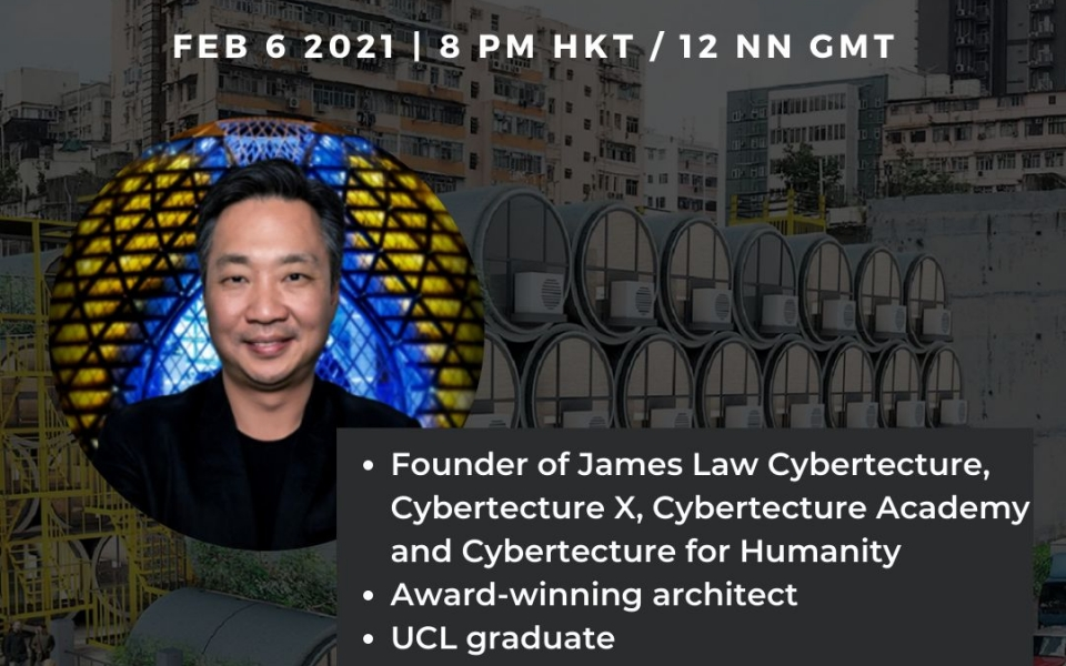 James Law to speak at UCL Asia Careers Society on his career journey