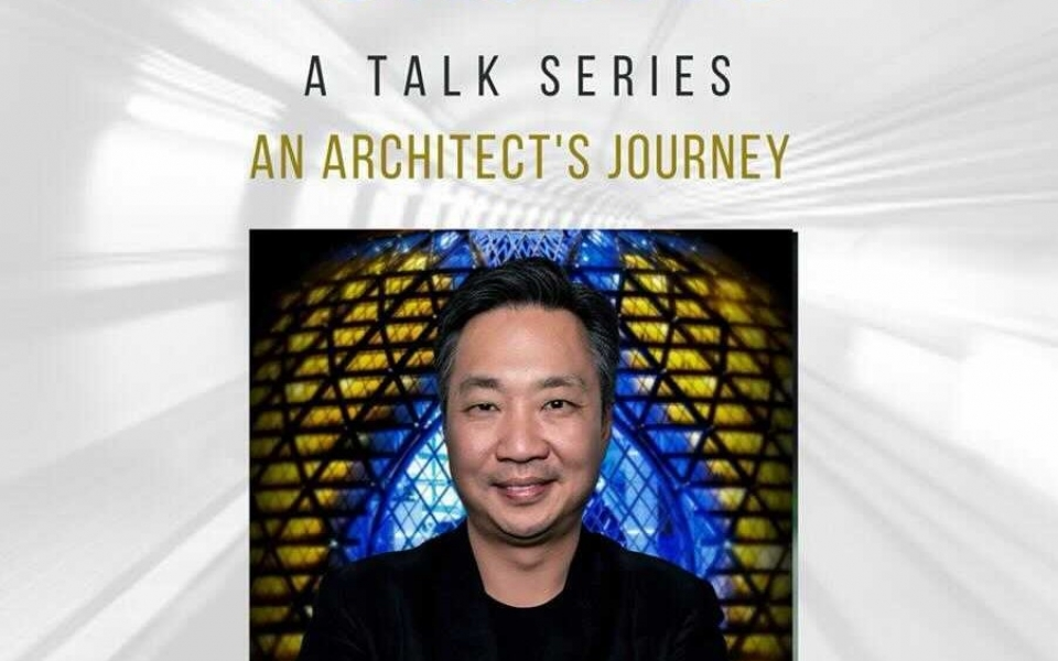 James Law to speak at Symbiosis Skills and Professional University on the topic An Architects Journey on Feb 17, 2021 300pm